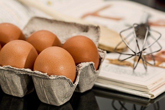 Trouver des recettes à base d'œufs